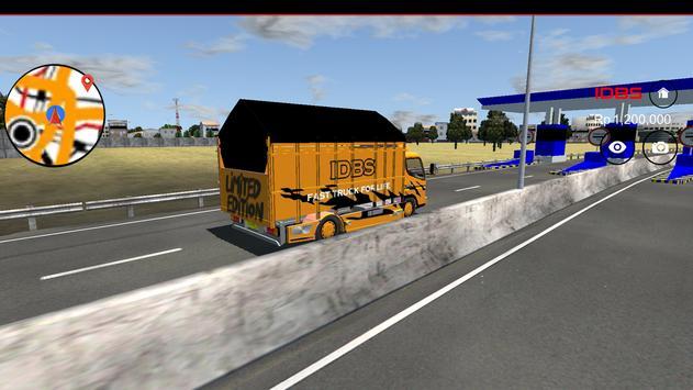 IDBS Indonesia Truck Simulator ScreenShot1
