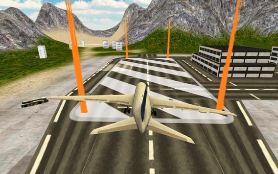Flight Simulator: Fly Plane 3D ScreenShot1
