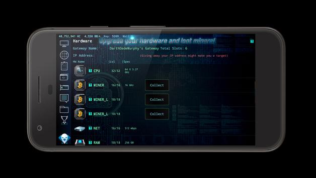 Hackers Online (MMO Simulator) ScreenShot1