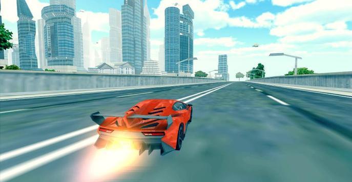 Flying Car 3D ScreenShot1