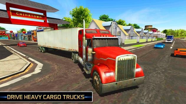 Euro Truck Driving Simulator 2018 ScreenShot1
