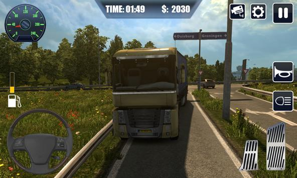 Heavy Cargo Truck Driver 3D ScreenShot1