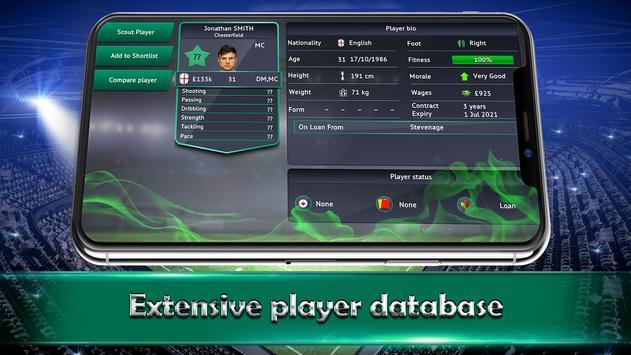 Soccer Manager 2019  SE ScreenShot1