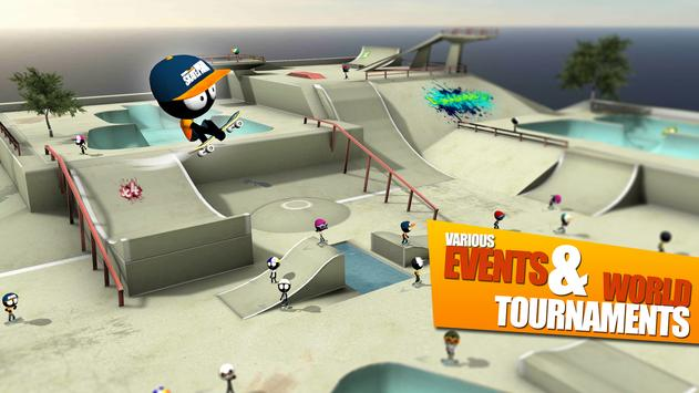 Stickman Skate Battle ScreenShot1