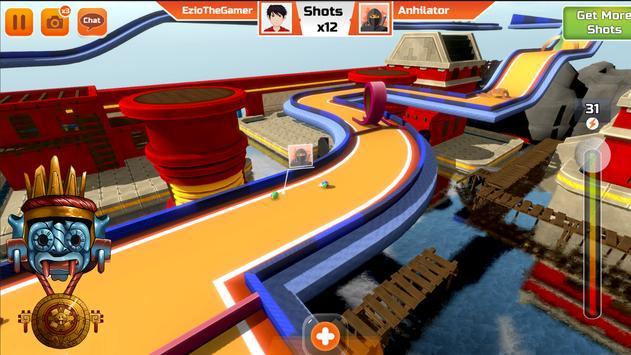 Mini Golf 3D City Stars Arcade  Multiplayer Rival ScreenShot1