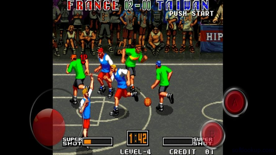3V3 Basketball game ScreenShot1
