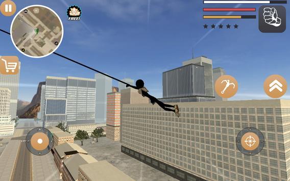 Stickman Rope Hero 2 ScreenShot1