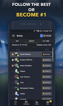 Sports Betting Game  BETUP ScreenShot1