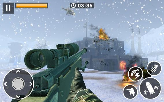 Call for War  Winter survival Snipers Battle WW2 ScreenShot1
