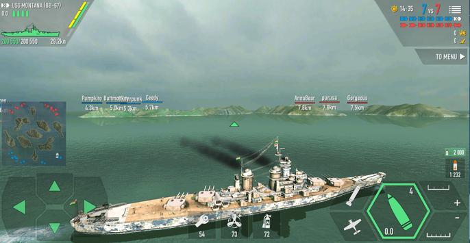 Battle of Warships: Naval Blitz ScreenShot1