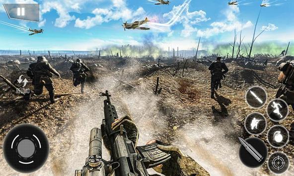 World War II Survival: FPS Shooting Game ScreenShot1