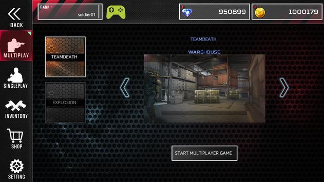 Combat Soldier  FPS ScreenShot1
