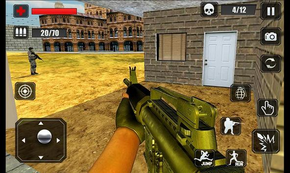 Counter Terrorist Stealth Mission Battleground War ScreenShot1