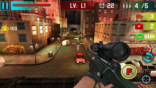 Sniper Shoot War 3D ScreenShot1