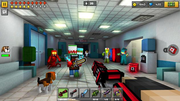 Pixel Gun 3D: Survival shooter and Battle Royale ScreenShot1