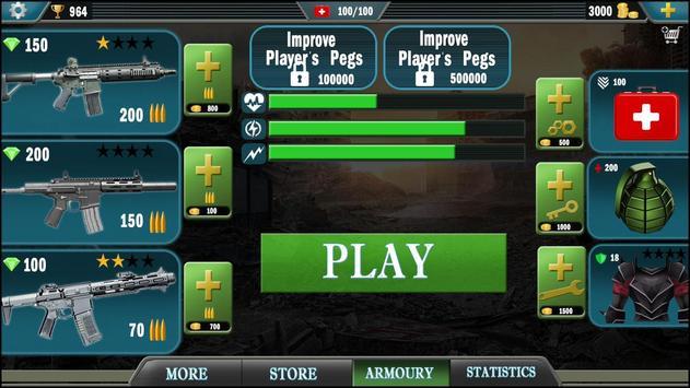 Shoot War Strike : fps Ops ScreenShot1