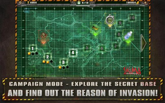 Alien Shooter Free  Isometric Alien Invasion ScreenShot1