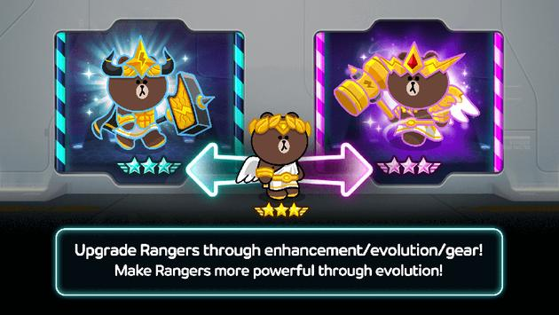 LINE Rangers ScreenShot1
