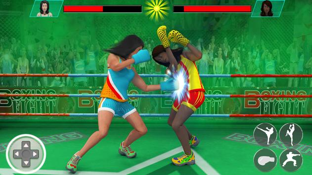 Ninja Punch Boxing Warrior: ung Fu arate Fighter ScreenShot1