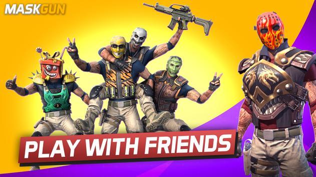 MaskGun Multiplayer FPS  Free Shooting Game ScreenShot1