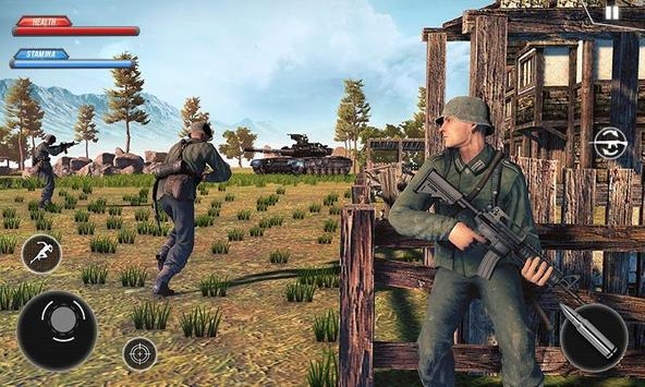WW2 US Army Commando Survival Battleground ScreenShot1