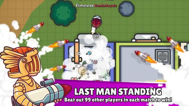 ZombsRoyale.io  2D Battle Royale ScreenShot1