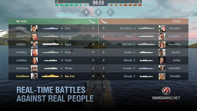 World of Warships Blitz: Gunship Action War Game ScreenShot1
