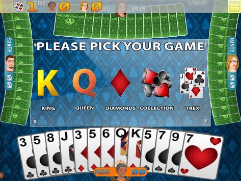 Golden Card Games (Tarneeb  Trix  Solitaire) ScreenShot1