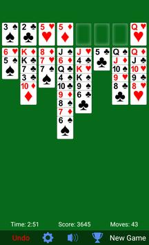 FreeCell Solitaire ScreenShot1