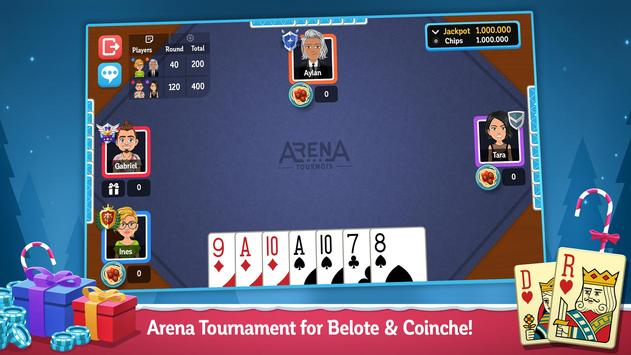 Multiplayer Belote and Coinche ScreenShot1