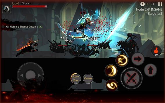 Shadow of Death: Dark night  Stickman Fighting ScreenShot1