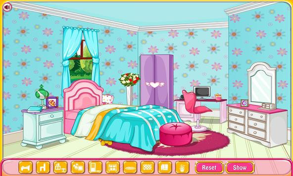 Girly room decoration game ScreenShot1