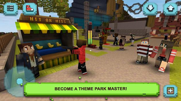 Theme Park Craft: Build and Ride ScreenShot1