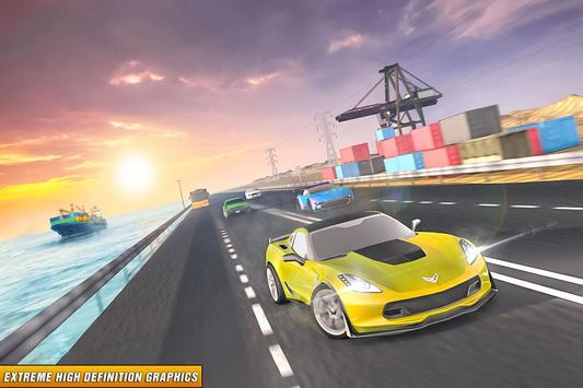 Drive in Car on Highway : Racing games ScreenShot1