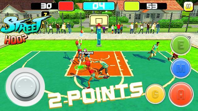 Street Hoop: Basketball Playoffs ScreenShot1