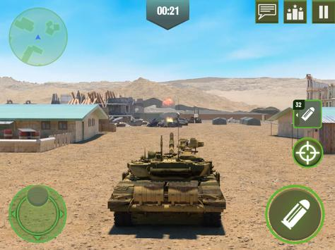 War Machines: Free Multiplayer Tank Shooting Games ScreenShot1