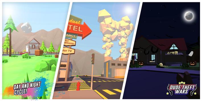 Dude Theft Wars: Open World Sandbox Simulator BETA ScreenShot1