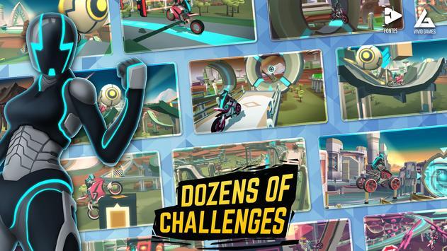 Gravity Rider: Space Bike Racing Game Online ScreenShot1
