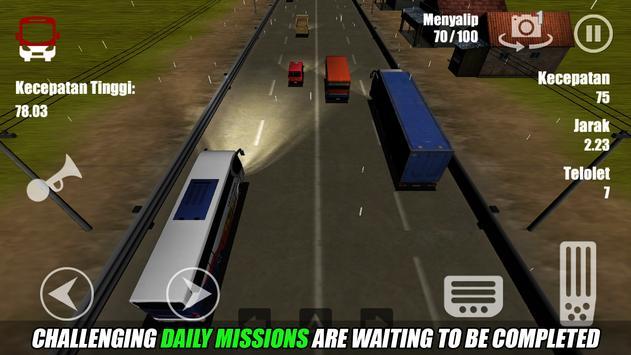 Telolet Bus Driving 3D ScreenShot1