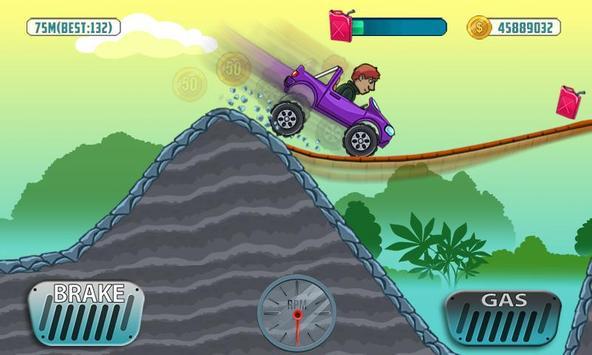 Mountain Car Climb ScreenShot1
