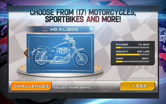 Drag Racing: Bike Edition ScreenShot1