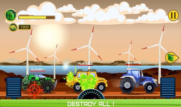 Two players game  Crazy racing via wifi (free) ScreenShot1