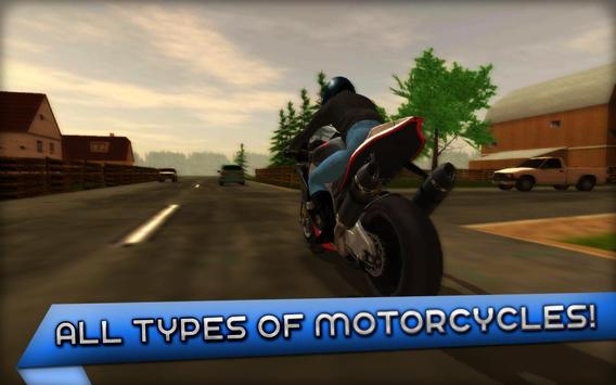 Motorcycle Driving 3D ScreenShot1