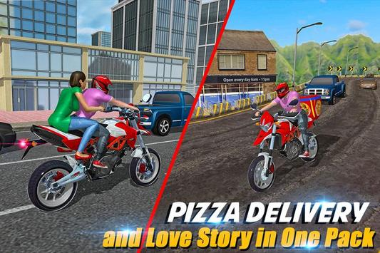 Moto Pizza Delivery ScreenShot1