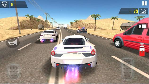 Racing Car Traffic ScreenShot1