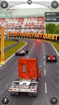 Real Thumb Car Racing; Top Speed Formula Car Games ScreenShot1