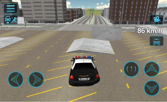 Fast Police Car Driving 3D ScreenShot1