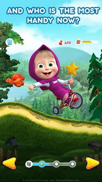 Masha and the Bear: Climb Racing and Car Games ScreenShot1