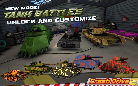Crash Drive 2: 3D racing cars ScreenShot1