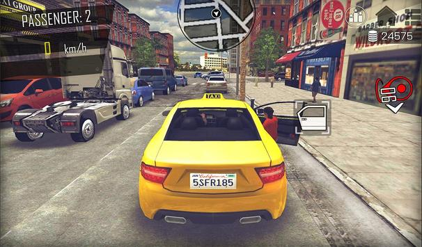 Crazy Open World Driver  Taxi Simulator New Game ScreenShot1